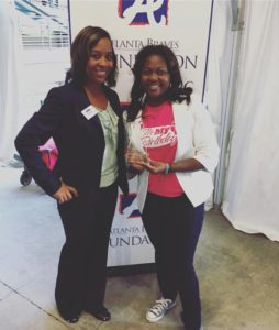 IMB Atlanta President La'Keitha Carlos & Atlanta Braves Foundation Executive Director Ericka Newsome-Hill